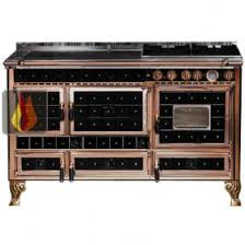 piano cuisine gaz piano de cuisson bois gaz et électrique 140cm avec 2 fours et