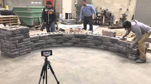Ep Henry Devonstone by Time Lapse Wall Build Ep Henry Double Sided Cast Stone Wall Youtube