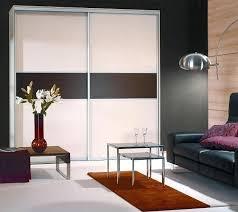 Truporte Closet Doors Truporte Closet Doors Sliding Doors With Melamine Panels In Tuxedo