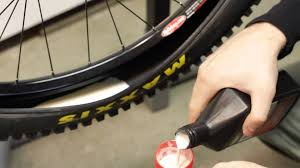 trail guide tires stan u0027s notubes tubeless system installation youtube