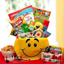 gift baskets for kids kids smiley activity gift box