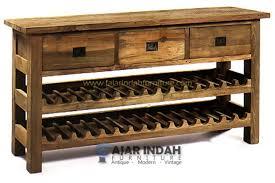 wine rack side table side table fajar indah furniture