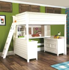 bunk bed desk combo design wooden with underneath medium size of