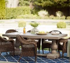 Dining Table Set Espresso Scarlett Concrete Rectangular Dining Table U0026 Torrey Roll Arm Chair