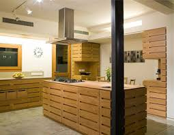 modern wooden kitchens modern timber kitchens l shaped brown plywood cabinet light two