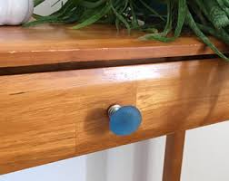 Sea Glass Door Knobs by Glass Cabinet Knobs Etsy