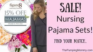 sale on nursing pajama sets the pumping