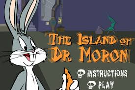 bugs bunny island dr moron game looney tunes games