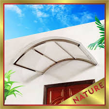 Awning Supplier Stainless Steel Awning Polycarbonate Awning