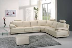 Rugs For Sectional Sofa by Furniture Fashionable White L Shape Sectional Sofa Including