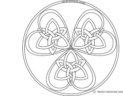 shamrock heart celtic symbol