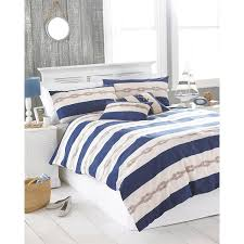 just contempo nautical duvet cover set king red amazon co uk