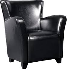 Leather Chair Bonded Leather Chair Black The Brick