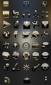 go theme launcher apk gold go launcher theme 2 0 apk android