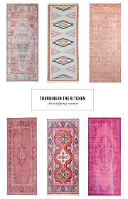 Kitchen Runners A Pinterest Worthy Kitchen Starts With This Colorful Trend