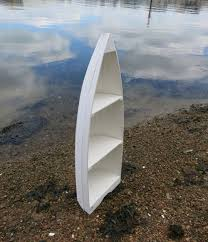 white boat bookcases this boat shaped book case is always popular
