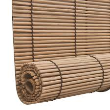 Burnt Bamboo Roll Up Blinds by Bamboo Blinds Bamboo Blinds Manufacturer Roll Up Bamboo Brown