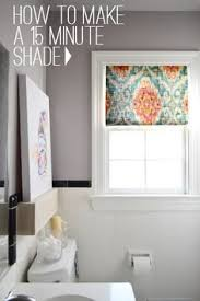 Bathroom Window Curtain Ideas No Sew Roman Shade Roman Window And Amanda
