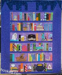 Bookshelf Quilt Pattern Free Harry Potter Themed Quilt Patterns
