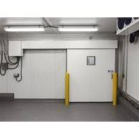 porte coulissante chambre froide portes coulissantes pour entrepôt réfrigéré