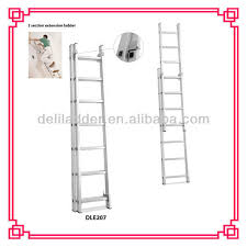 2 12step double extension ladder 5 9m straight step ladder