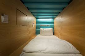 Sleeping Pods Capsule By Container Hotel