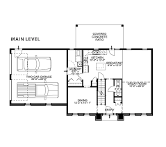 Two Car Garage Floor Plans by The Cinthia Shuster Custom Homes Floor Plans