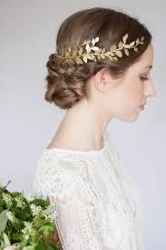 gold headpiece alena laurel leaf wrap headpiece leaf circlet gold leaf