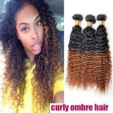 curly black hair sew in kinky curly sew in malaysian ombre hair weft one bundle deal soft