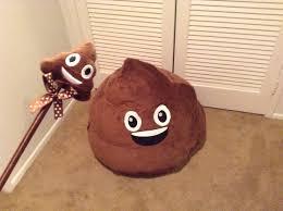 Brown Leather Bean Bag Chair Emoji Bean Bag Youtube