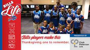 bills bills players make this thanksgiving one to remember