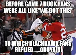 Blackhawks Meme - oduya hockey blackhawk meme imgflip