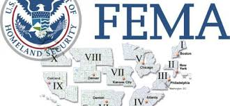 fema region map list of every known fema c and their locations tis