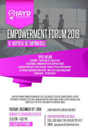 empowerment forum 2016 u2022 underwood talent development services
