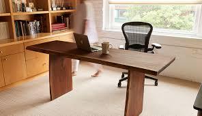 live edge computer desk walnut slab desk david stine