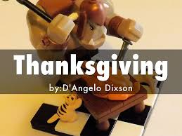 what really happened thanksgiving thanksgiving by dangelo dixson