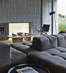 b b italia sofa modular sofa contemporary leather fabric tufty b b