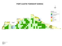 Austin Zoning Map building and zoning port austin township