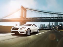 mercedes benz cls63 amg in diamond white with premium 1 package