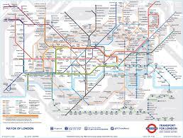Tube Map London London Tube Maps The London Underground Subway System