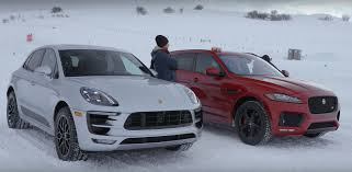 macan porsche gts jaguar f pace s vs porsche macan gts is settled with snow