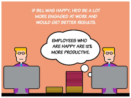 how to be happy and productive at work