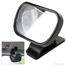 baby car mirror with light mini car rearview mirror safety easy view baby viewer auxiliary