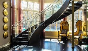 Free Standing Stairs Design China Modern Design Free Standing Stairs Curved Glass Staircase