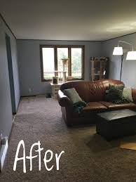Gray Paneling by Painting Wood Paneling To Brighten Our Dark Family Room Geek At
