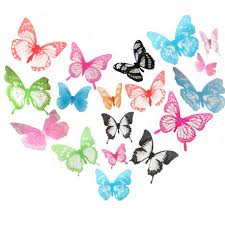 elecmotive wall decor elecmotive 36 pcs 3d color crystal wall decor elecmotive image elecmotive 36 pcs 3d color crystal butterfly wall stickers with adhesive
