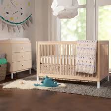 Convertible Crib Bed by Babyletto Gelato 2 Piece Nursery Set 4 In 1 Convertible Crib And