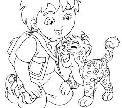 diego coloring pages diego diego free printable diego