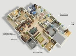 best home design home and floor plans on pinterest modern 4
