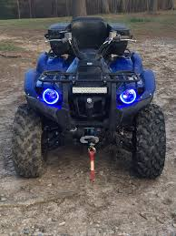 angel eye halos yamaha grizzly atv forum